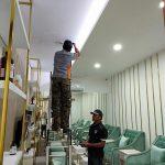 Pemasangan Sound System Area Salon - Tengah