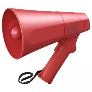 Jual Megaphone TOA ZR-510SHand Grip Sirene - Merah